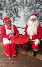 Book Santa and Mrs Claus for your next party