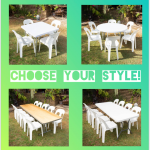 Some table options, more available check out website