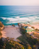 Point Lookout Surf Club from above